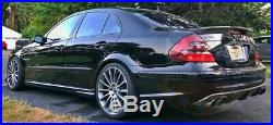 03-09 Mercedes Benz W211 E Class Sedan High Kick Carbon Fiber Cs Trunk Spoiler