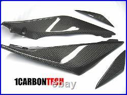 05 06 2005 2006 Suzuki Gsxr 1000 Carbon Fiber Lower Tank Panels