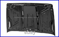 07-18 For Jeep JK Wrangler Metal Avenger Style Dome Engine Sport Hood Vent Scope
