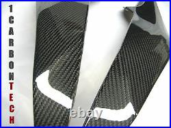 08-16 Yamaha Yzf R6 Carbon Fiber Lower Tank Panels