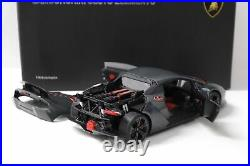 118 AUTOart Lamborghini Sesto Elemento Grey Carbon Fiber Pattern