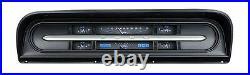 1967-72 Ford F100 Truck Pickup Dakota Digital Carbon Fiber & Blue VHX Gauge Kit