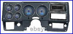 1973-87 Chevy C10 Truck Carbon Fiber & Blue Dakota Digital VHX Analog Gauge KIt