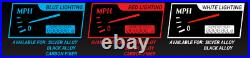 1988-94 Chevy GMC C/K 1500 2500 Dakota Digital Carbon Fiber / Blue Gauge Kit