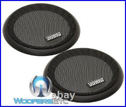 (2) Sundown Audio Neopro-6.5 V3 6.5 180w Rms 8 Ohm Carbon Fiber Midbass Drivers