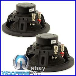 (2) Sundown Audio Neopro-8 V3 8 400w Rms 8 Ohm Carbon Fiber Midbass Drivers New