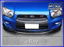 2004-2005 Subaru Impreza WRX STI DP Type Front Bumper Lip Carbon Fiber Sedan GDB