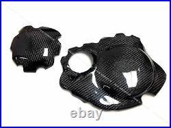 2004-2007 Honda CBR1000RR Carbon Fiber Engine Cover & Clutch Cover