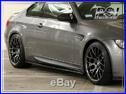 2008-2013 BMW M3 E90 E92 E93 Carbon Fiber Side Skirts Extension Add On Lip