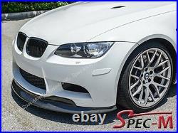 2008-2013 E90 E92 E93 Bmw M3 Challenge Style Carbon Fiber Front Lip Spoiler