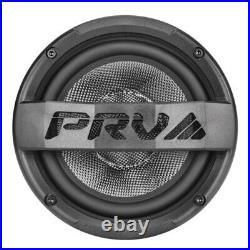 2x PRV 6MR500CF-NDY-4 Carbon Fiber 6.5 Midrange Bike Speakers 4 Waterproof