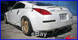 350z Top Secret Style Carbon Fiber Rear Diffuser 2003-2008 Z33 G35 TS USA CANADA