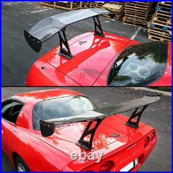 69adjustable Angle Carbon Fiber Glass Rear Trunk Single Deck Gt/f1 Spoiler/wing