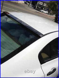 8th Gen Civic 4dr REAL CARBON FIBER rear roof wing/spoiler/visor fa5 lx si sedan