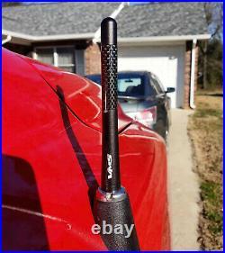 98-02 Chevy Camaro Carbon Fiber Short 3 Inch Antenna