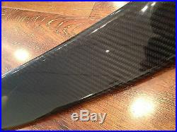 9th Gen Civic REAL CARBON FIBER rear roof wing/spoiler/visor fb2 fb6 lx si sedan