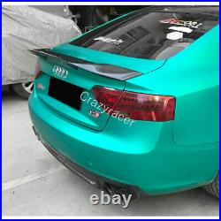 A5 Trunk Spoiler Wing for Audi A5 B8/B8.5 Coupe 2008-16 R Style Carbon Fiber