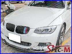 AK Style Carbon Fiber Bumper Lip Fit 11-13 E92 328i 335i LCI Coupe M sports