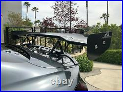 APR Performance Carbon Fiber GTC-200 60.5 Adjustable Wing Spoiler UNIVERSAL New