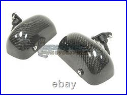 APR Performance Formula GT3 Carbon Fiber Side Mirrors with Blue Tint Universal NEW