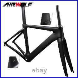 Aero Carbon Fiber Road Bike Frame 48/51/54/56 Bicycle Cycling Frameset 700C