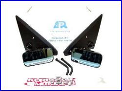 Apr Formula Gt3 Carbon Fiber Side Mirrors Set 92-95 Honda CIVIC Eg Coupe/hatch