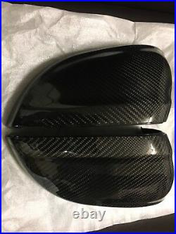 Audi A4 B9 S4 Rs4 Carbon Fiber Wing Mirror Cover Cap Replacement 2016-on OEM-fit