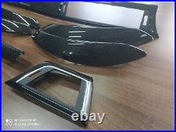BMW 3 4 Series F30 F31 F36 M performance Interior Trim Kit 7PCS CARBON FIBER RHD