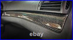 BMW E46 M3 330 328 325 323 REAL CARBON FIBER Interior TRIM SET SERVICE SEDAN