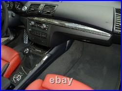 BMW E82 E83 E87 E88 Real Carbon Fiber Interior Trim 5 Piece set BMW 1 Series