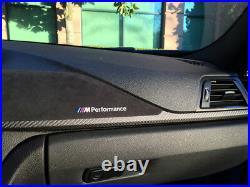 BMW F30 F31 F34 F36 M Performance Carbon Fibre & Alcantara Interior Trims 264