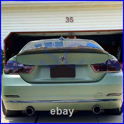 BMW F32 428 430 435 440 Coupe PSM Style Carbon Fiber Rear Trunk Spoiler Wing Lip