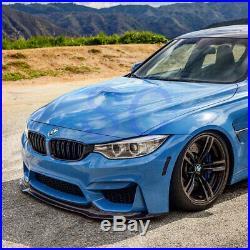 BMW F80 F82 F83 M3 M4 Carbon Fiber Front Lip Spoiler Add On Splitter