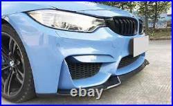 BMW F80 M3 F82 F83 M4 CS Carbon Fiber Front Lip Spoiler Splitter CS Style