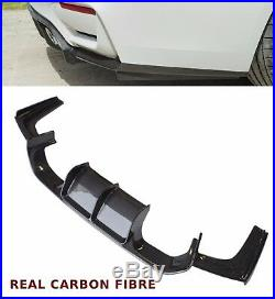 Bmw 3 4 Series F80 F82 M3 M4 Rear Diffuser Valance V Style Carbon Fibre 15+