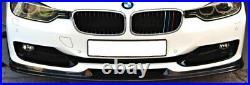 Bmw 3 Series 2012-2015 F30 Se Front Bumper Carbon Fibre Splitter Lip Haman Y2192