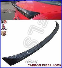 Bmw 3 Series E90 M Performance Carbon Fiber Look Boot Spoiler 100% Oem Fit
