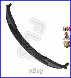 Bmw 3 Series F30 F31 Front Diffuser Splitter Valance Lip Spoiler Carbon Fibre