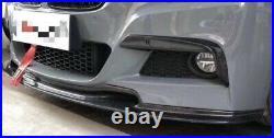 Bmw 3 Series F30 F31 Varis Carbon Fibre Front Splitter Lip Spoiler M Sport