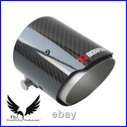 Bmw Carbon Fibre Akrapovic Exhaust Tips 4 Set M2 M3 M4 M5 M6 F80 F82 F83 F10 F87