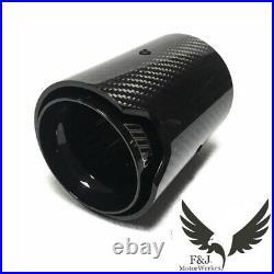 Bmw M Performance Carbon Fibre Exhaust Tip M2 M3 M4 M5 M6 X5M X6M Black 4 Tips