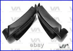 Bmw M3 E90 E92 E93 Carbon Fiber Front Bumper Corner Splitters