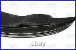 Bmw M3 E90 E92 E93 Gts Style Carbon Fiber Front Bumper Lip Spoiler Splitter