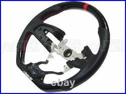 Buddy Club Carbon Fiber Steering Wheel for 17-19 Honda Civic Type-R FK8