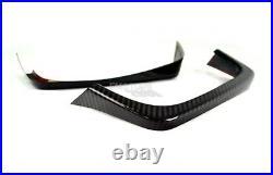 Carbon Fiber 15-20 Fit For SUBARU WRX STI 4th Sedan Rear Exhaust Pipe Cover Pair