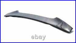 Carbon Fiber Fit FOR Subaru WRX STI Gurney Flap Rear STI Trunk Spoiler 2020 NEW