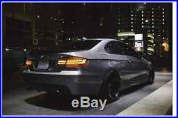 Carbon Fiber High Kick Trunk Spoiler BMW E92 Coupe 328i 335i M3 Wing Lip CF