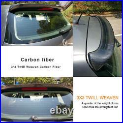 Carbon Fiber Rear Roof Spoiler Wing Lip for Volkswagen VW Golf 5 MK5 GTI R32