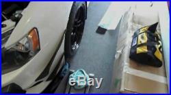 Carbon Fiber Trim Front Bumper Canards Splitters for Mitsubishi Lancer EVO X 08+