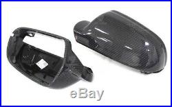 Carbon Fibre Audi RS4 / RS5 / A4 / A5 / S4 / S5 B8.5 Wing Mirror Covers